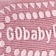 GoBabyGo Socks Dusty Rose_Close Up Under Foot