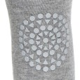 GoBabyGo Tights Grey Melange_ close up knee