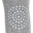 GoBabyGo Tights Grey Melange_ close up knee