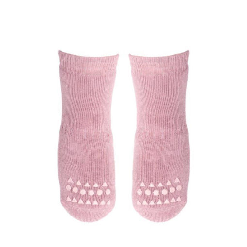 GoBabyGo socks Dusty Rose_front
