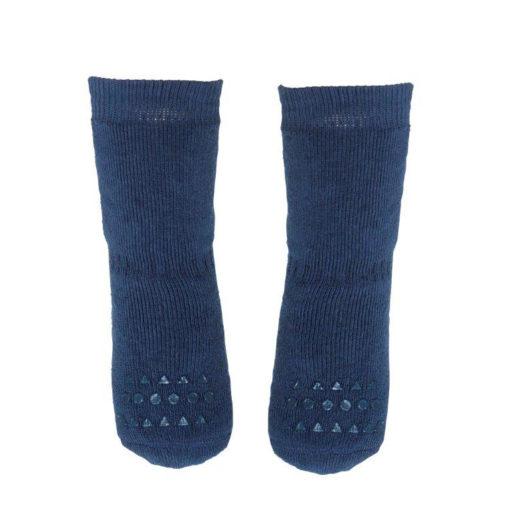 GoBabyGo socks Petroleum Blue_front