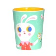 Melamine cup rabbit fox mint MC8