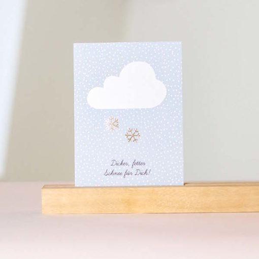 Postkarte-rasmussons-Schneeflocken-trulsundtrine
