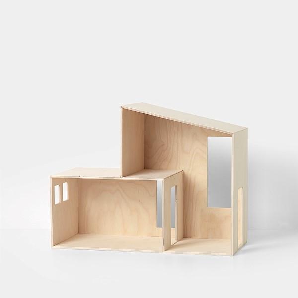 Miniature funkis house holz puppen haus klein ferm for Funkis sale