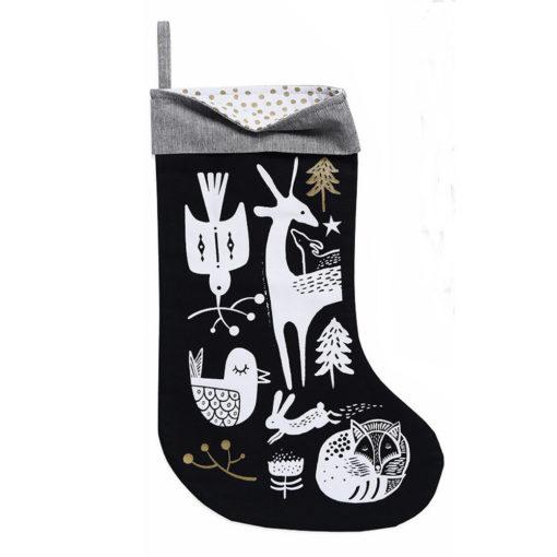 wg3002-Winter-Animals-Stocking-White-on-Black-1-2